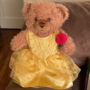 Limited edition beauty and the beast bear